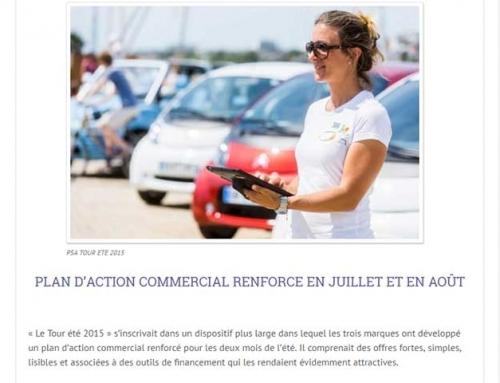 Bilan du tour été 2015 Peugeot Citroen